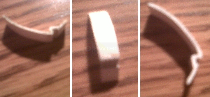 User submitted photos of a glazing bead.
