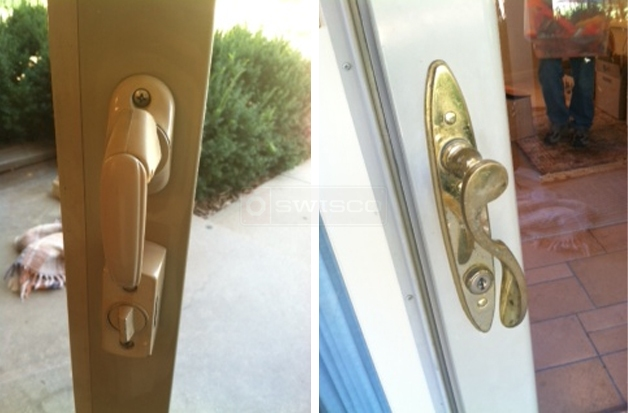 User submitted photos of a door handle.