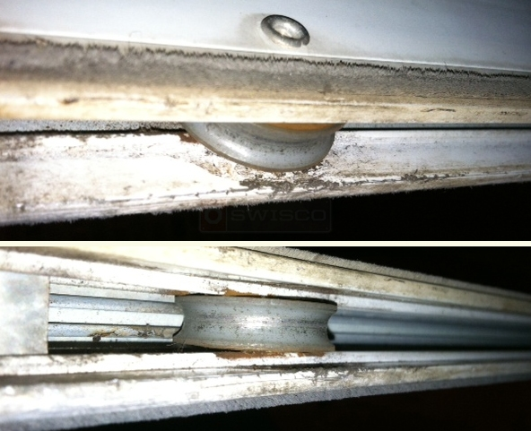 User submitted picture of patio door rollers.