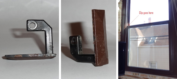 User submitted photos of a window clip.