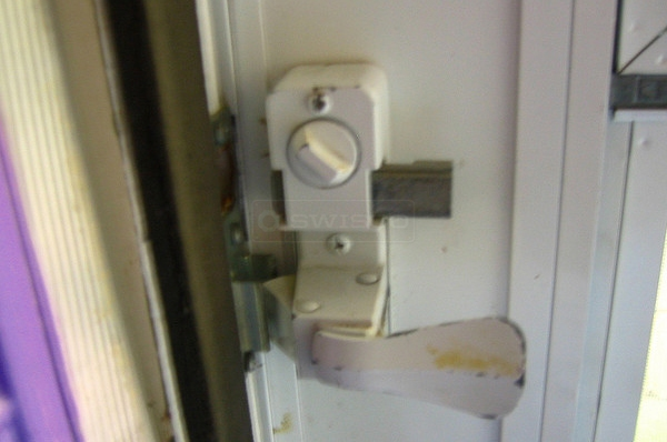 User submitted a photo of a storm door handle.
