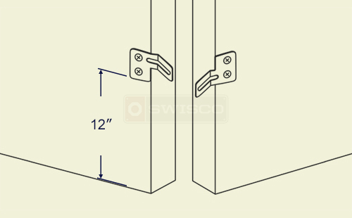Bifold Door Aligner For A 4 Door Setup Swisco Com