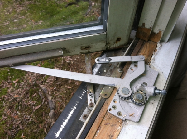 User submitted a photo of a window operator.