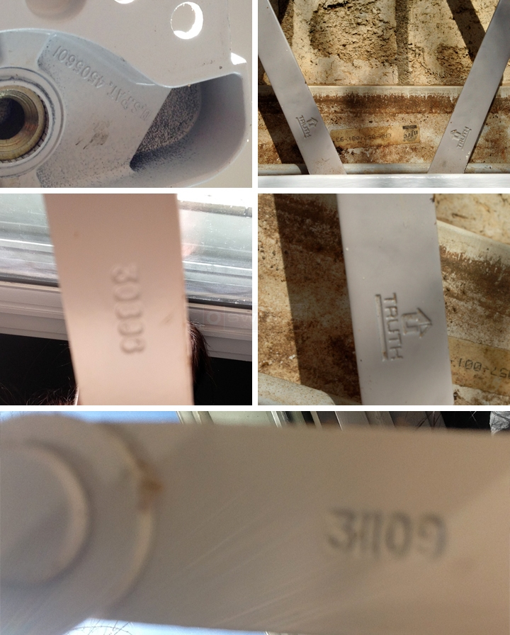 User submitted photos of a window crank.