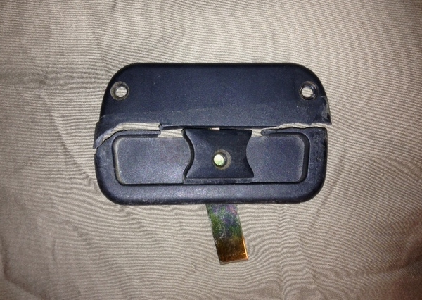User submitted a photo of a screen door latch.