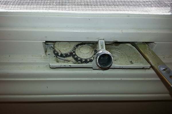 User submitted a photo of a window crank.