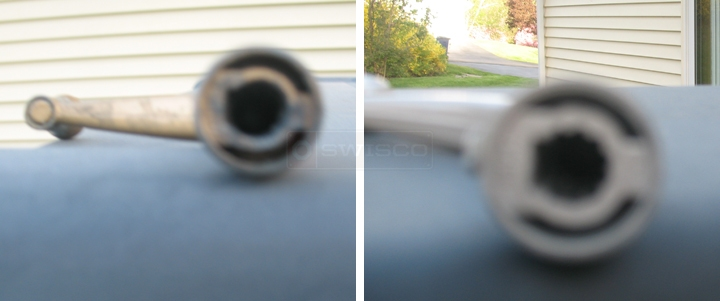 User submitted photos of a window crank handle.