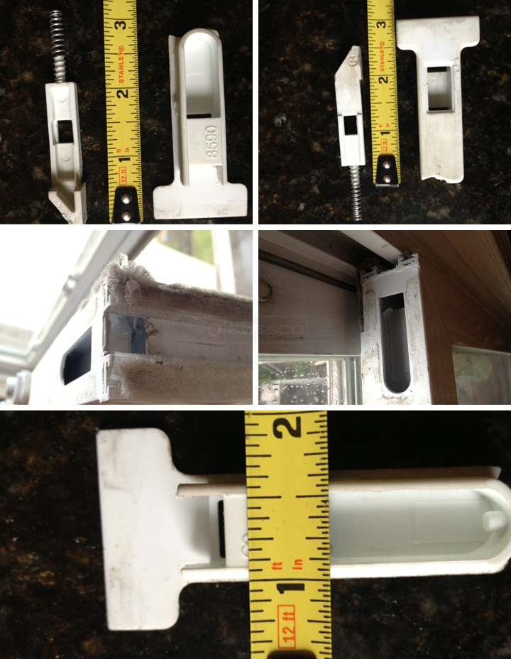 User submitted photos of tilt latches.