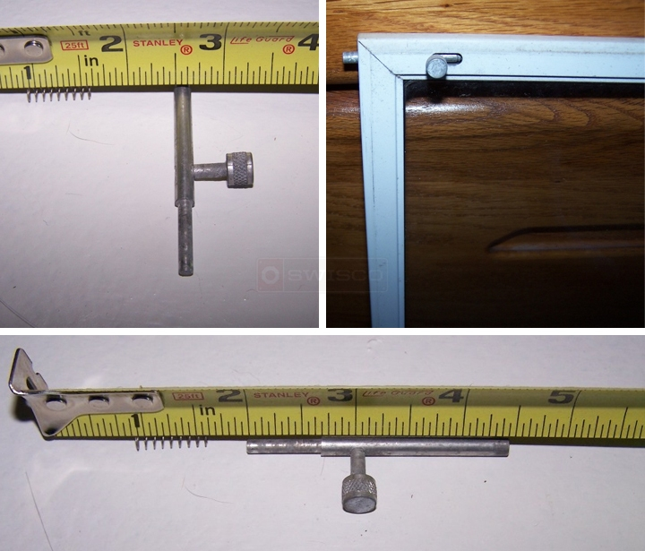User submitted photos of a slide bolt.