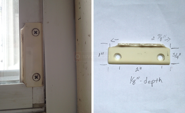 User submitted photos of a window pull.