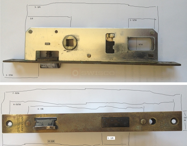 pado security storm door lock emco