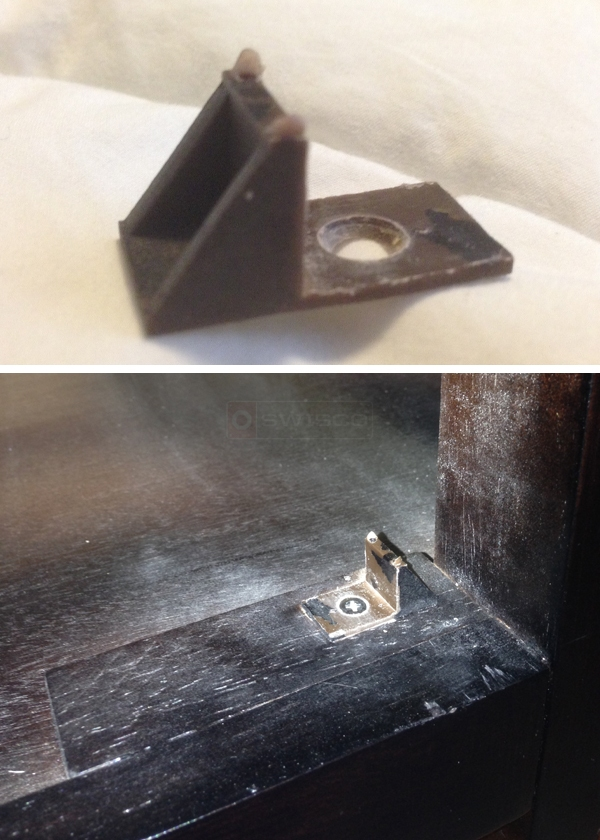 User submitted photos of drawer guides.