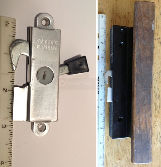 A customer submitted image of their patio door latch.