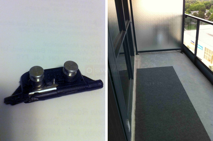 User submitted a photo of a window bracket.