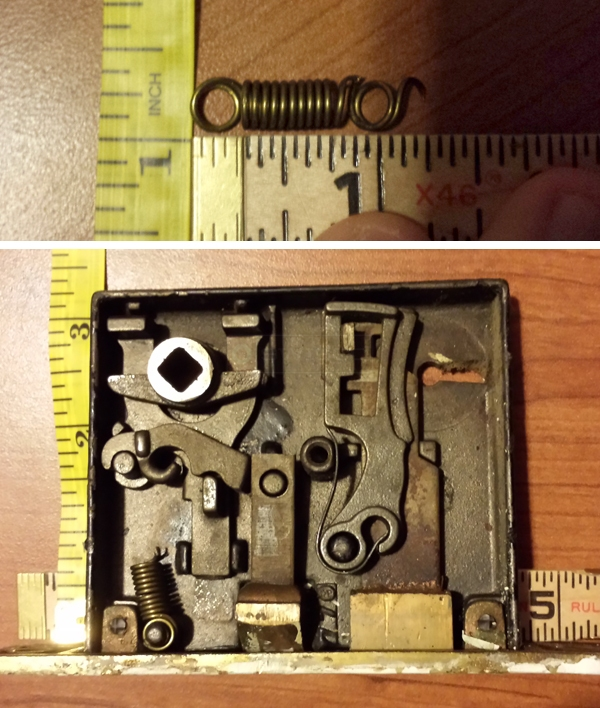 User submitted photos of a lock.
