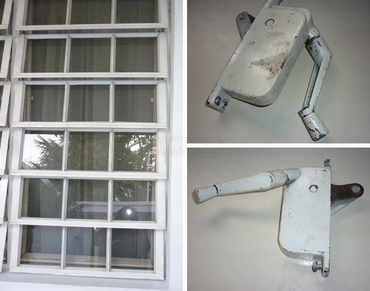 Crank Mechanism On A Jalousie Window Swisco Com