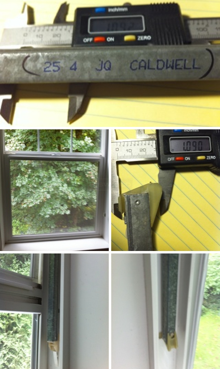 User submitted photos of window balances.
