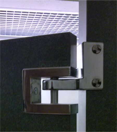 A customer submitted image of their lavatory hinge.