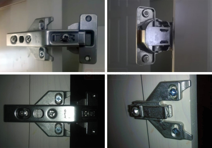 User submitted photos of a hinge.