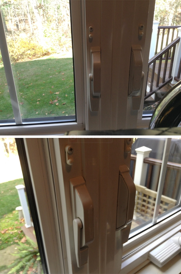 User submitted photos of window latchs.