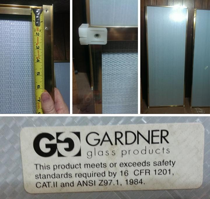 72 And 60 Gardner Sliding Mirror Doors Swisco Com