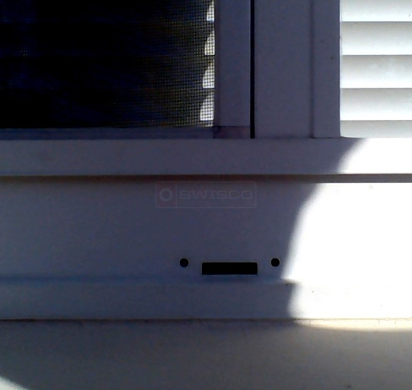 User submitted photos of a weep hole.