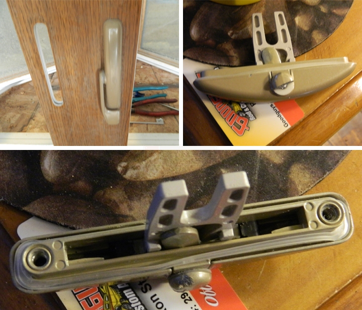 User submitted photos of window latches.