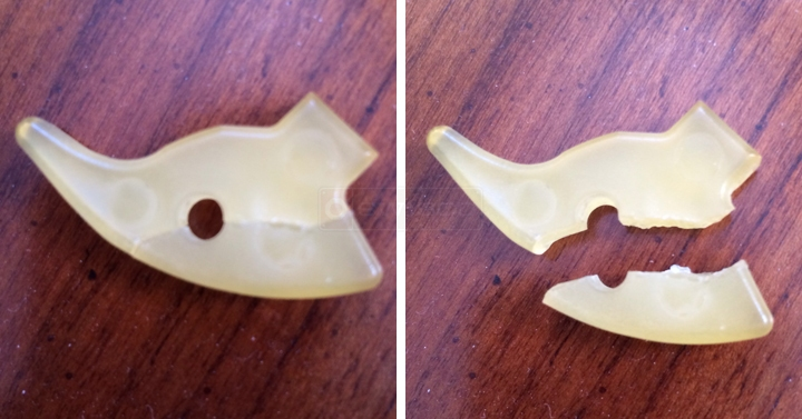 User submitted photos of a drawer clip.