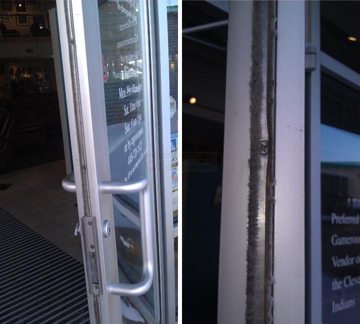 7 Kawneer Double Doors