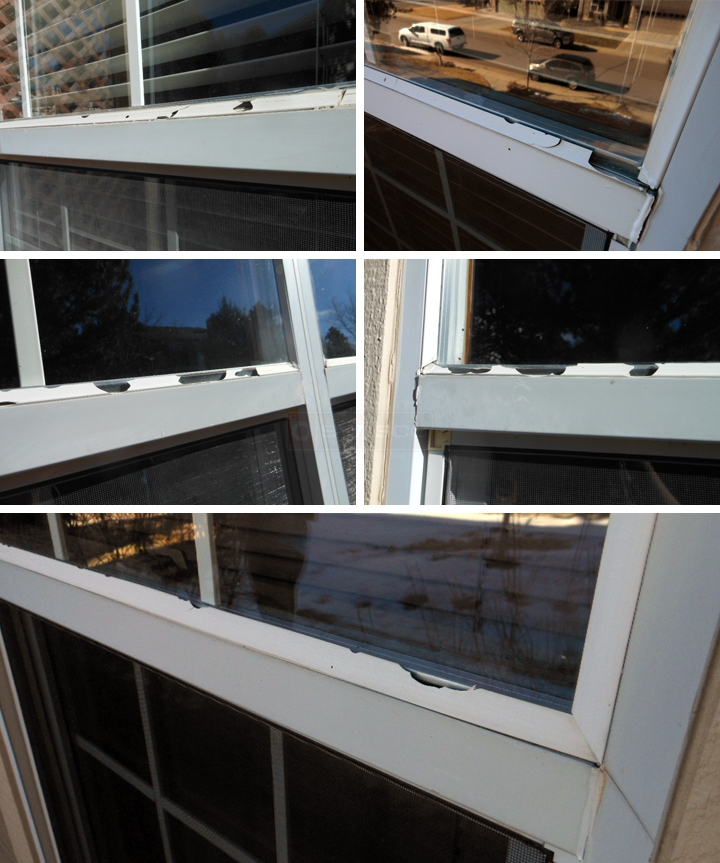 User submitted photos of snap in glazing.