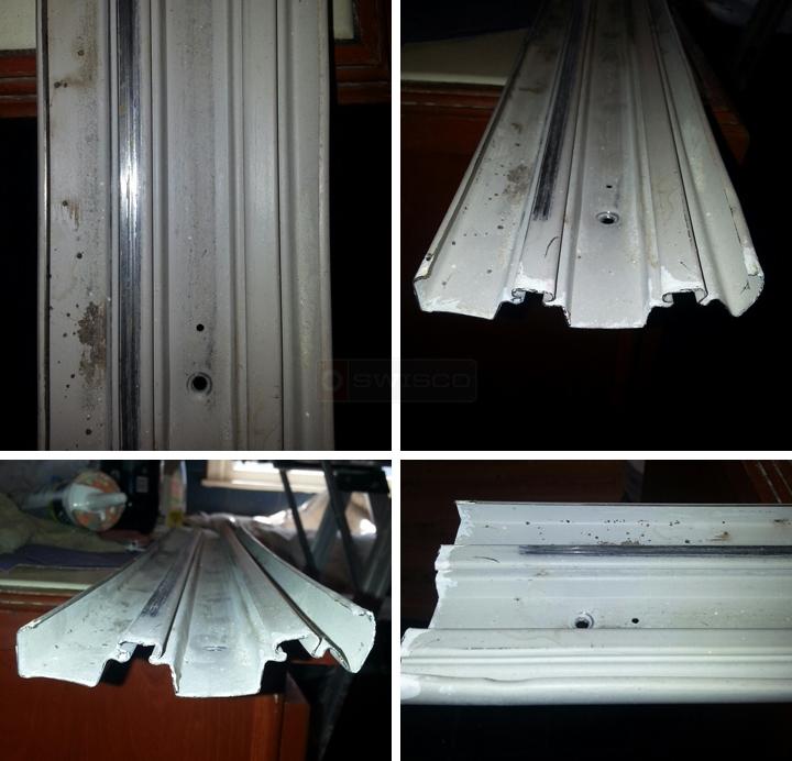 need floor rails stanley monarch closet door mirrors   swisco com