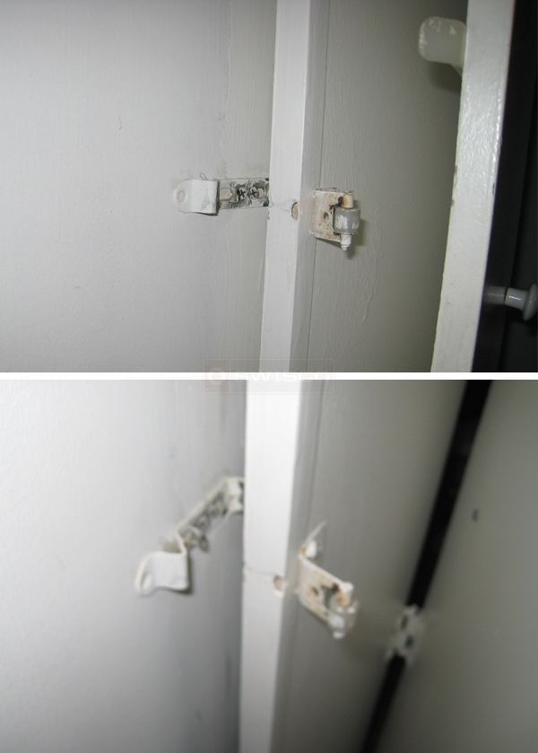 User submitted photos of cabinet hardware.