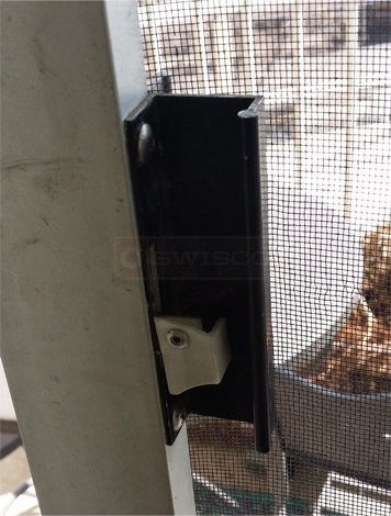 User submitted a photo of a screen door handle.