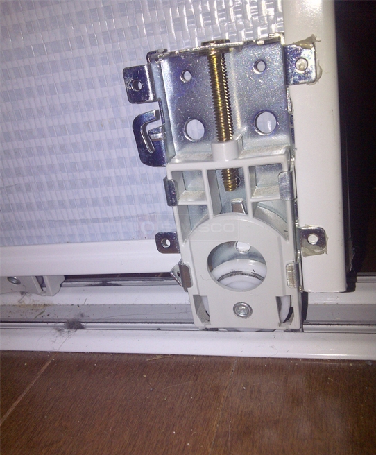 User submitted a photo of mirror closet door roller.