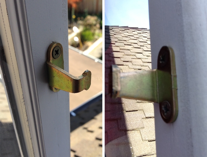 User submitted photos of a window keeper.