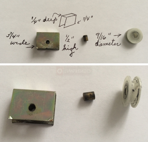 Genial User Submitted Photos Of A Cabinet Door Roller.