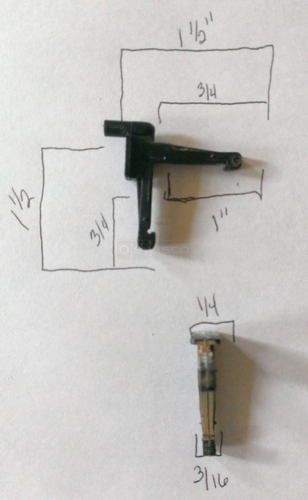 User submitted a photo of a corner key.
