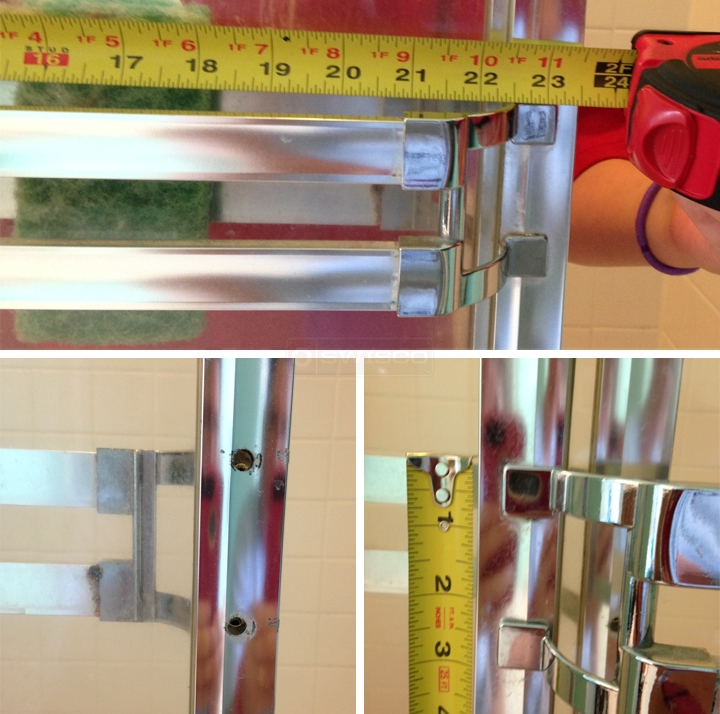 user submitted photos of shower door hardware