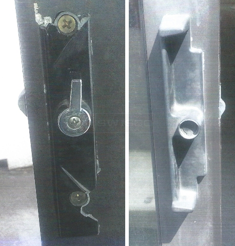 User submitted a photo of a door handle.