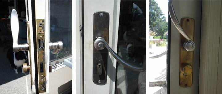 user submitted photos of a door handle set