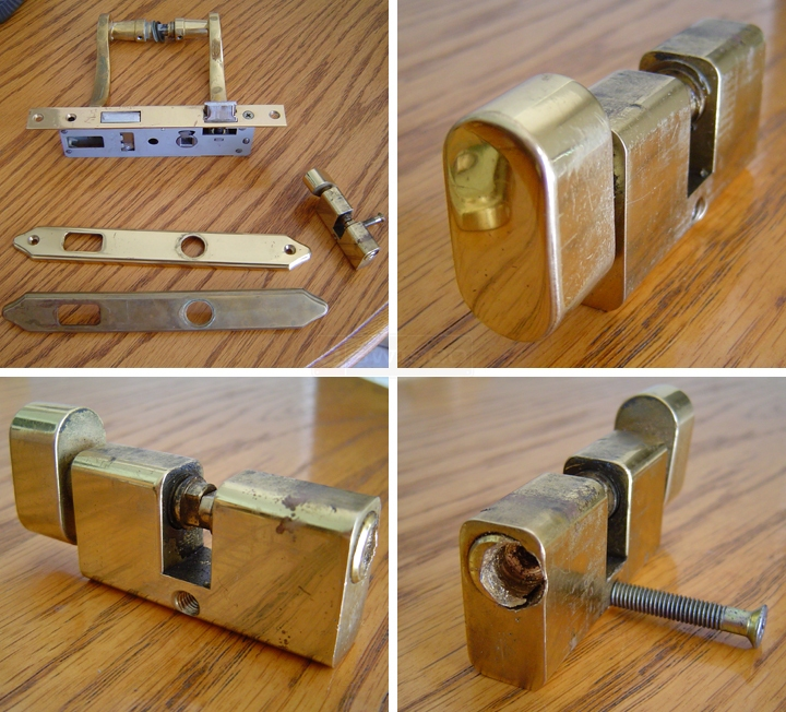 User submitted photos of a door lock.