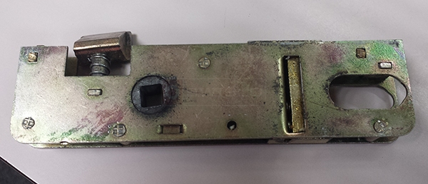 User submitted a photo of a mortise lock.