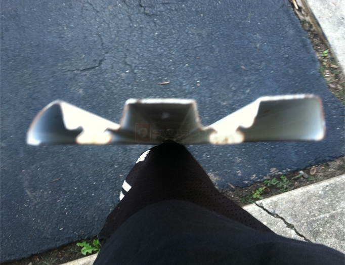 User Submitted A Photo Of Their Closet Door Track.