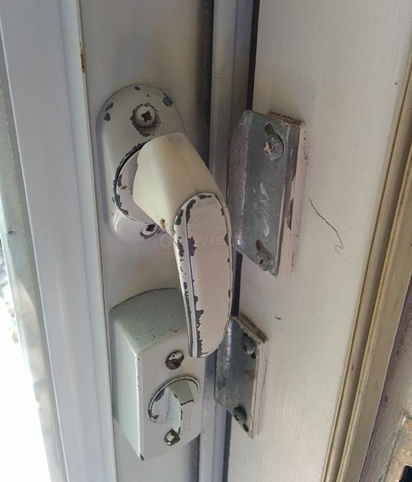 Strom Door Replacement Handle Spring Back Has Broken