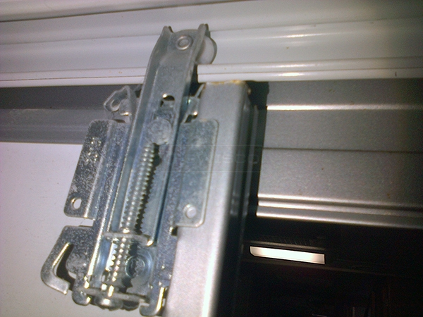 User submitted a photo of a closet door roller.