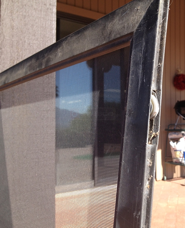 User submitted a photo of a screen door roller.