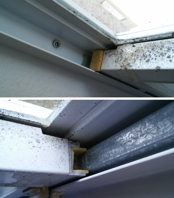 User submitted photos of a window hardware.