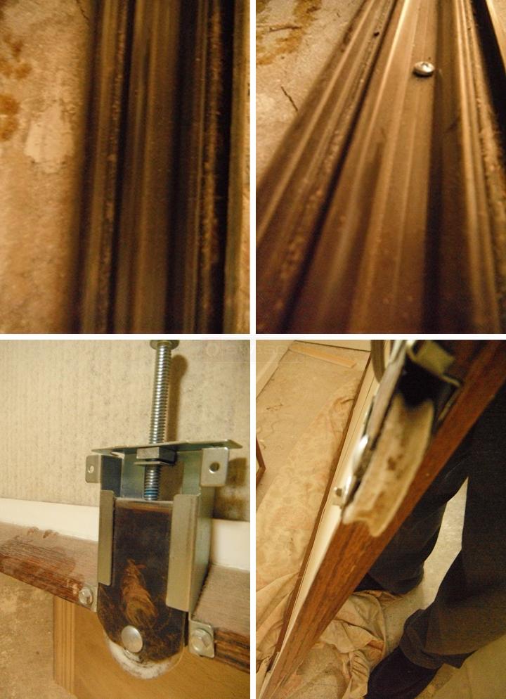 Bottom Track For Our Monarch Oak Mirror Door Swisco Com