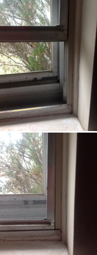 User submitted photo of their window balance.