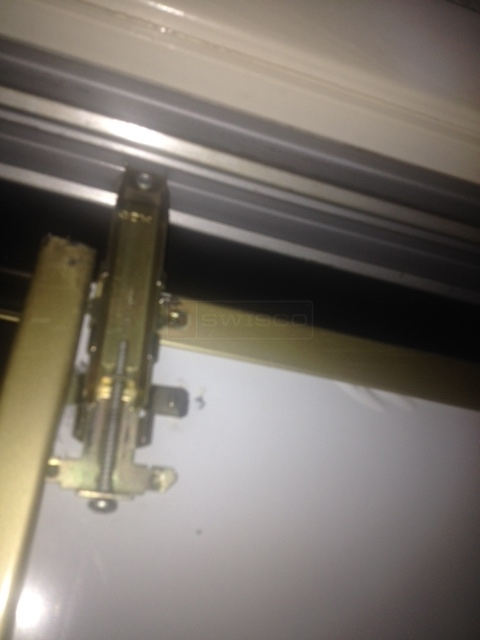User submitted a photo of closet door hardware.